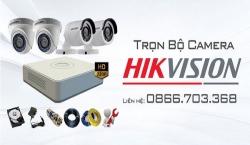 Lắp đặt trọn bộ camera quan sát Hikvision giá rẻ siêu nét Full HD tại Quảng Nam