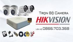 Bộ camera Hikvision giá rẻ chất lượng, miễn phí công lắp đặt tại Tam Kỳ