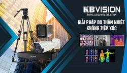 Giải pháp lắp đặt camera đo thân nhiệt không tiếp xúc của hãng KBVISION