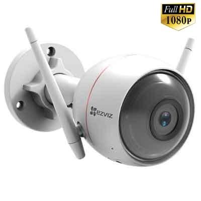 Camera Wifi EZVIZ C3W 1080P (CS-CV310-A0-1B2WFR) Tích hợp đèn, còi báo động