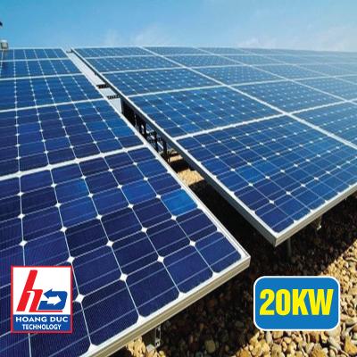 Điện năng lượng mặt trời hòa lưới cho hộ gia đình 20KW