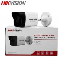 Camera IP 2.0M HikVision Thân trụ hồng ngoại có hỗ trợ thẻ nhớ